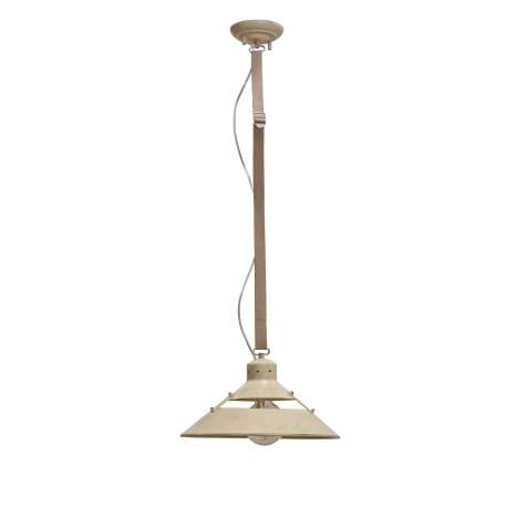Lámpara colgante Industrial 35cm arena - Mantra