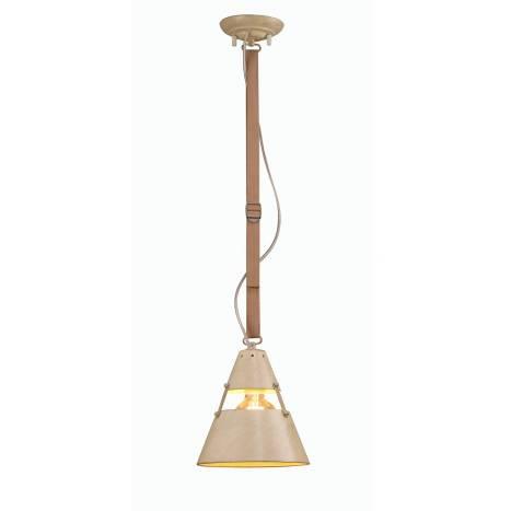 Lámpara colgante Industrial 21cm arena - Mantra