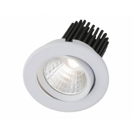 Foco empotrable Rebecca LED 10w circular blanco de Bpm