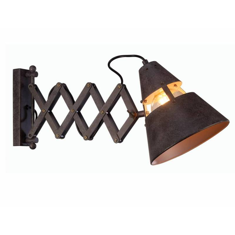 Mantra industrial wall lamp extensible oxide aloadofball Image collections