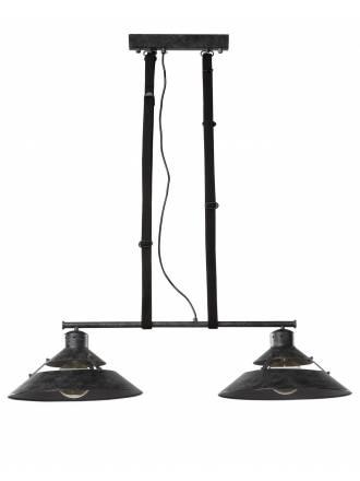 MANTRA Industrial pendant lamp 2l oxide metal
