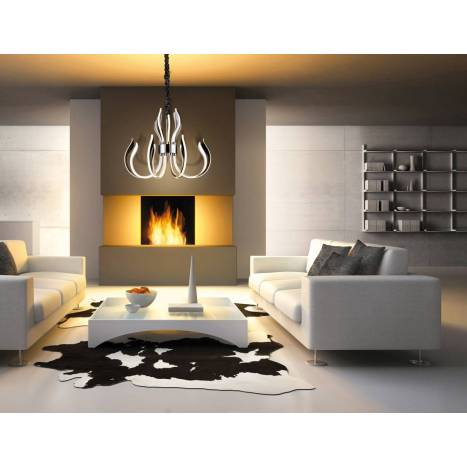 MANTRA Versailles pendant lamp LED 155w chrome
