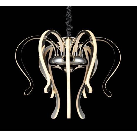 Lámpara colgante Versailles LED 106w cromo - Mantra