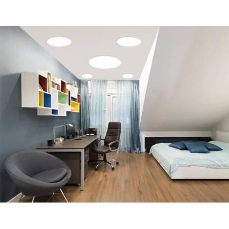 KOHL Disc LED panel light 8w white