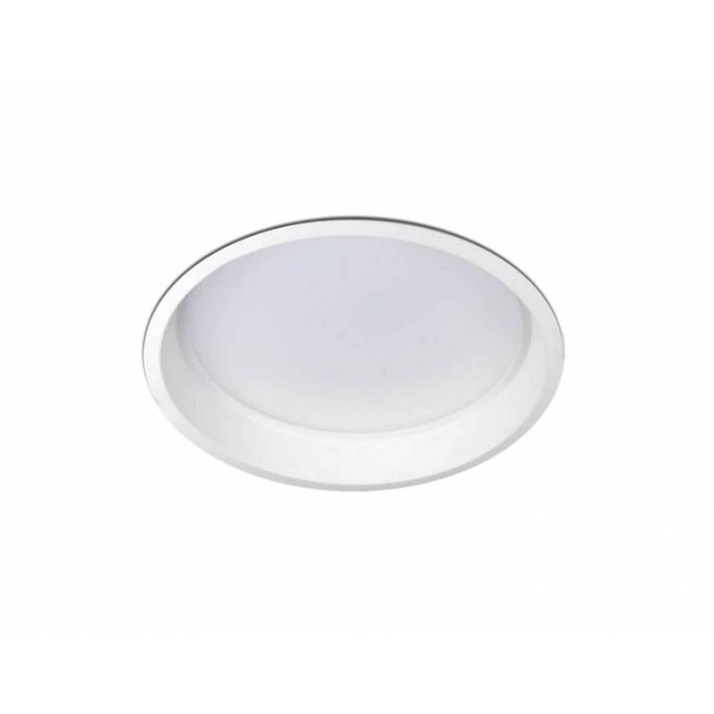 KOHL Lim round LED downlight 25w white