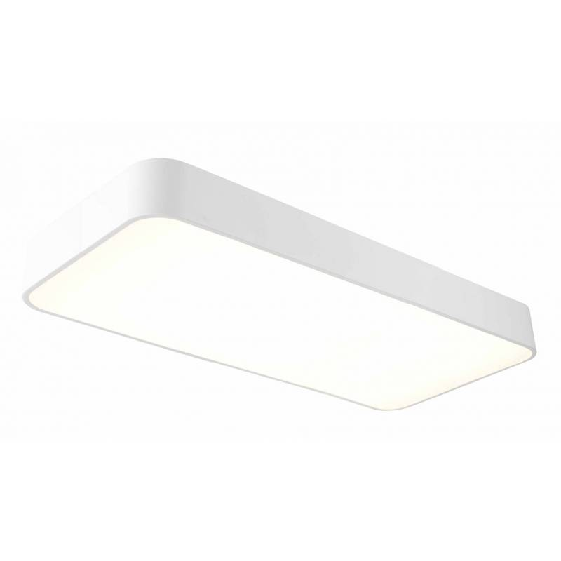 Plaf n de techo cumbuco led 50w blanco rectangular mantra for Plafon led cocina rectangular