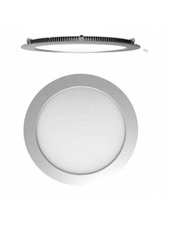 Downlight LED 18w Eco circular gris extraplano - Maslighing