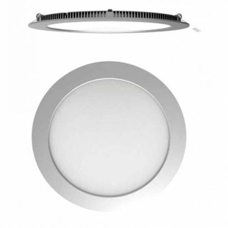 MASLIGHTING Downlight LED Eco 18w round grey