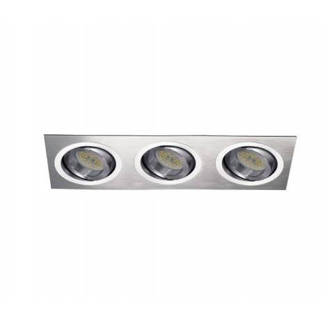 Cristalrecord helium 3 lights recessed light aluminium aloadofball Images