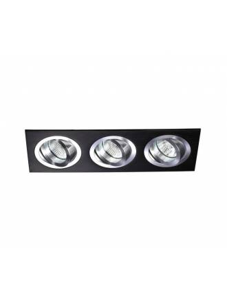 CRISTALRECORD Helium 3 lights recessed light black
