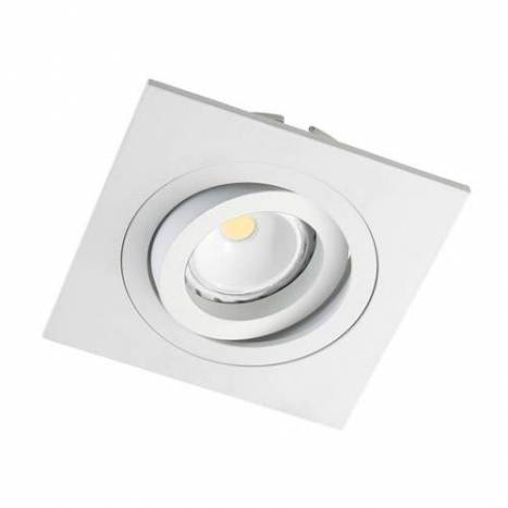 Cristalrecord helium square recessed light white aloadofball Images