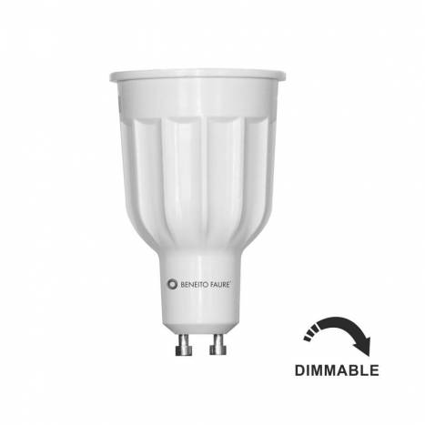 BENEITO FAURE Dimmable Power GU10 LED 12w 60º