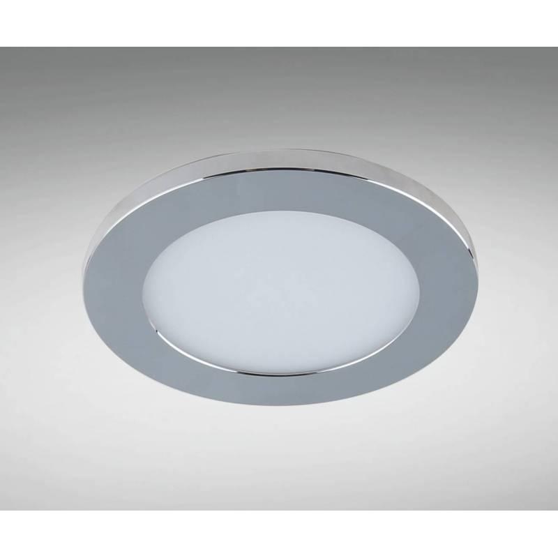 Foco empotrable lc1452w led ip44 cromo yld - Focos led cocina ...