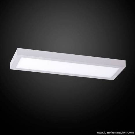 IRVALAMP Planium ceiling lamp LED 47w silver
