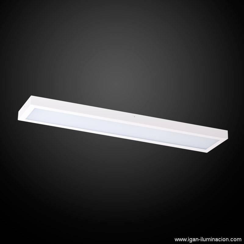 Plafón de techo Planium LED 68w blanco - Irvalamp