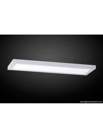 IRVALAMP Planium ceiling lamp LED 68w silver