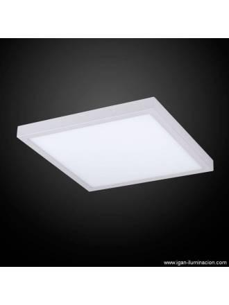 Plafon de techo Planium LED 73w plata - Irvalamp