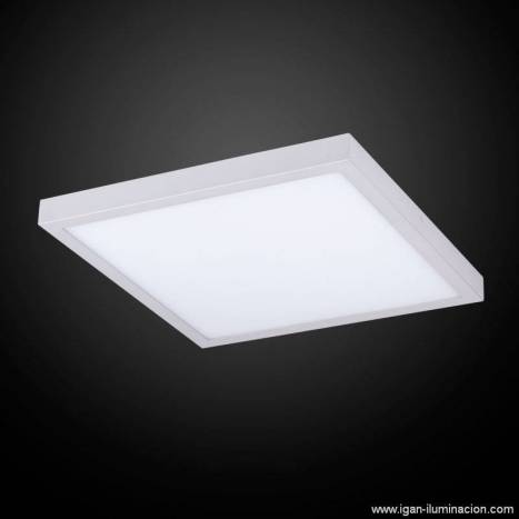 IRVALAMP Planium ceiling lamp LED 73w silver