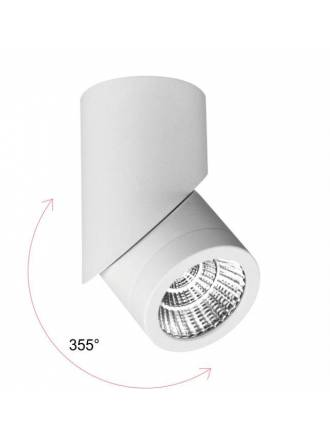 Foco de superficie Plus LED 7w blanco - Beneito Faure