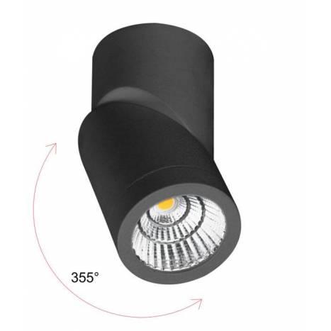 BENEITO FAURE Plus surface spotlight LED 7w black