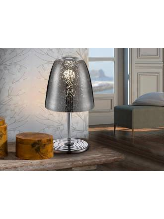 SCHULLER Quasar floor lamp 1 light blown glass