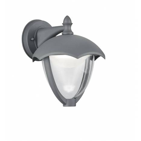 TRIO Gracht LED wall lamp anthracite