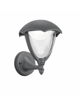 TRIO Gracht 2 LED wall lamp anthracite