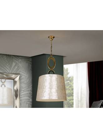SCHULLER Eden pendant lamp 3 lights gold leaf