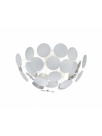 Plafón de techo Discalgo 3L blanco - Trio