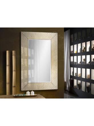 Espejo de pared rectangular Hermes pan de oro - Schuller