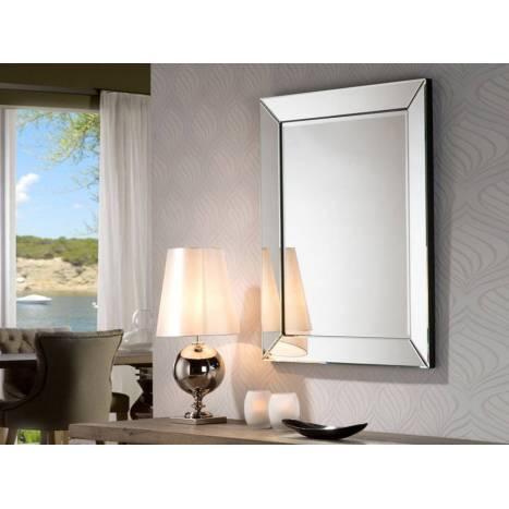 Espejo de pared Roma rectangular - Schuller