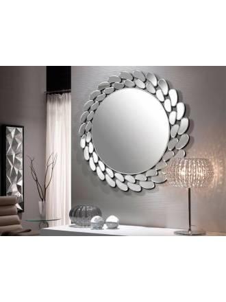 Espejo de pared Ofelia circular biselado 80cm - Schuller