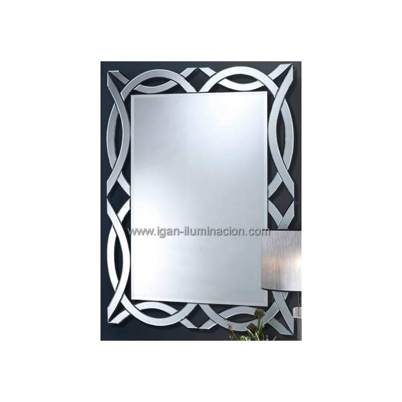 Espejo de pared alhambra rectangular 120cm schuller - Espejos para pared ...