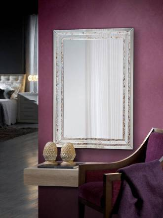 SCHULLER Nacar wall mirror rectangular 120cm