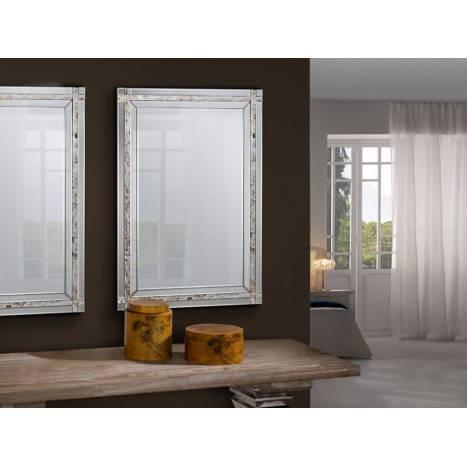 Espejo de pared Nacar rectangular 90cm - Schuller