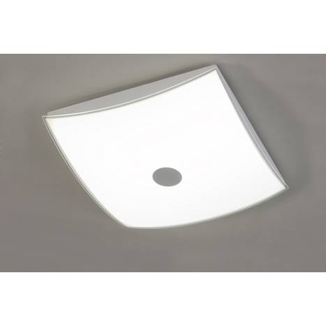 ACB 3360 ceiling lamp LED chrome and glass