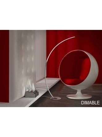 Lámpara de pie Trazo LED 20w regulable - Schuller