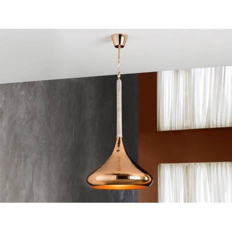 SCHULLER Ishara pendant lamp copper 1 light