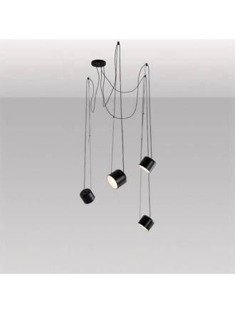 Lámpara colgante Paco 4L metal - Ole