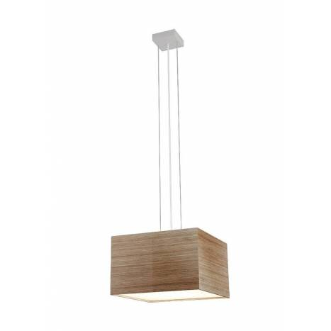 OLE by FM Kube pendant lamp LED 15w wood
