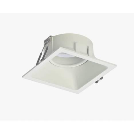 MANTRA Comfort square recessed light white