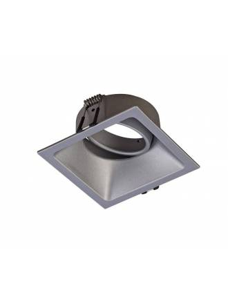 MANTRA Comfort square recessed light silver