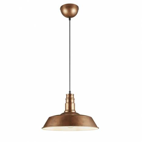TRIO Will pendant lamp 1L copper