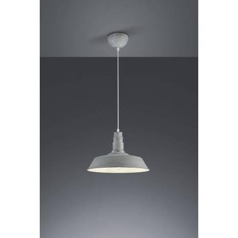 TRIO Will pendant lamp 1L nickel