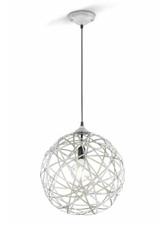 TRIO Jacob pendant lamp 1L grey