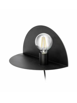 FARO Nit wall lamp 1 light black