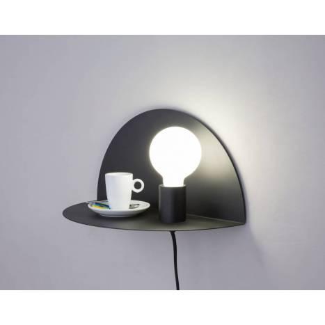 FARO Nit wall lamp 1 light black