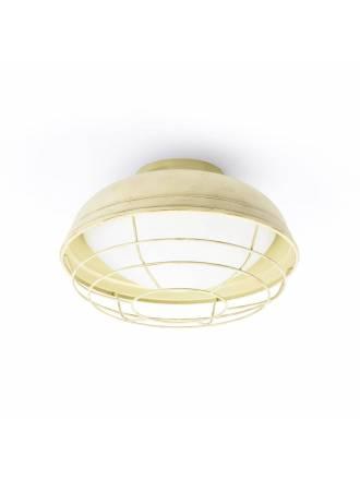 FARO Helmet off white ceiling lamp
