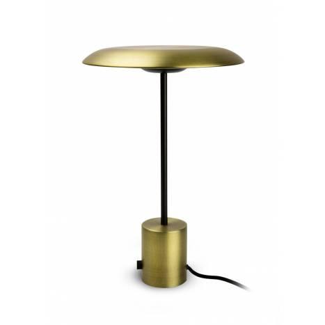 Lámpara de mesa Hoshi LED regulable oro - Faro