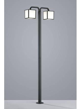 TRIO Cubango pole lamp 2L E27 LED 6w
